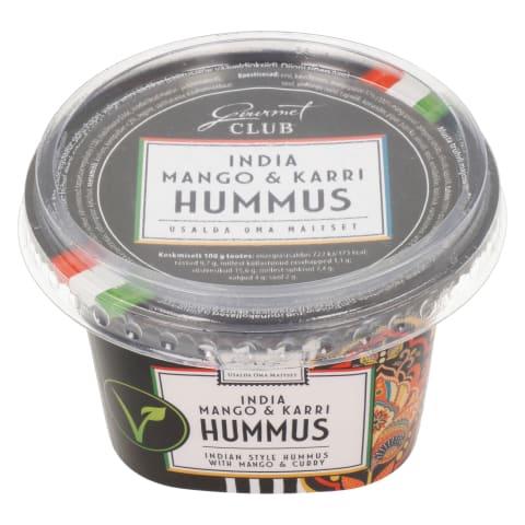 Hummus mango-karri Gourmet Club 200g