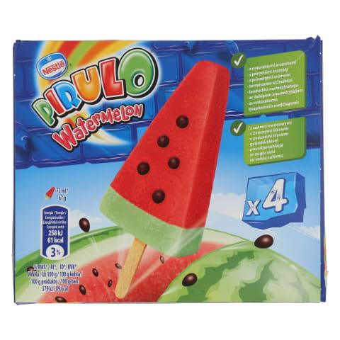 Sulas saldējums Pirulo arbūza 4x73ml/268g