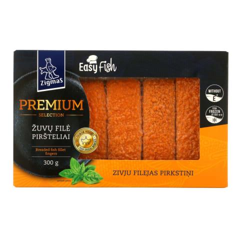 Šal. žuvų filė piršteliai ZIGMAS Premium,300g