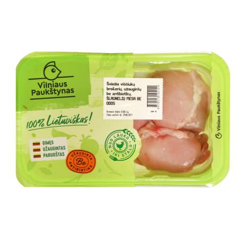 Švž.višč.broilerių šlaunų mėsa, 550g