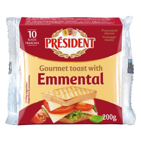 Sulatatud juust Emmentali juustuga 200g