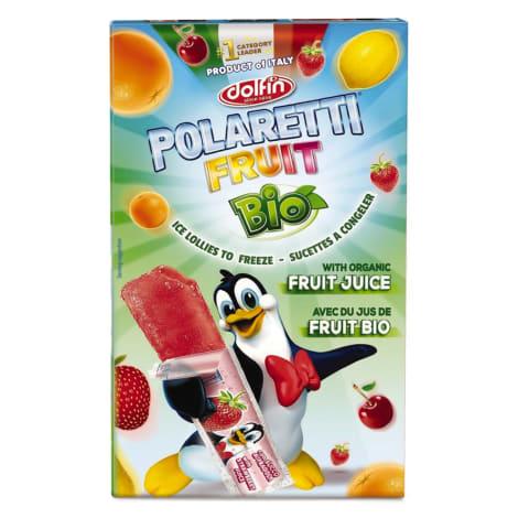 Sulas saldējums Polaretti augļu BIO 10x40ml