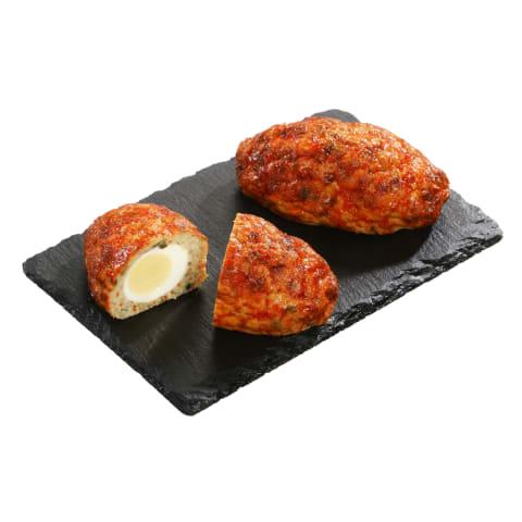 Karpių kepsnys su kiaušiniu, 1 kg