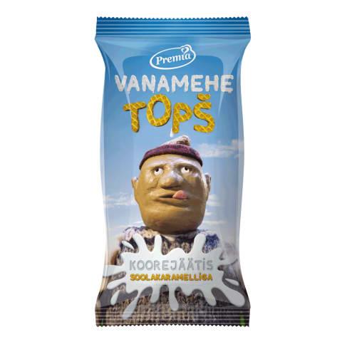 Jäätis Vanamehe topš soolakar. 75g/140ml