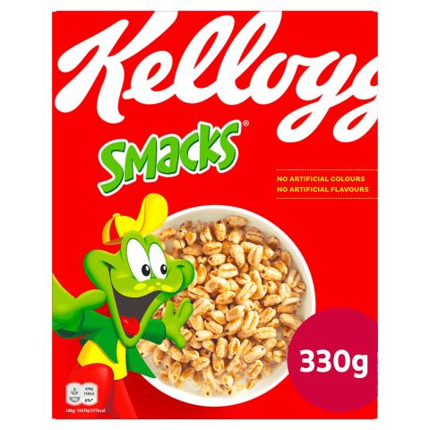 Brokastu pārslas Kellogg's Smacks 330g