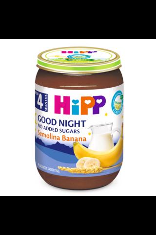 Piena p. Hipp bio ar ban., nakts 190g