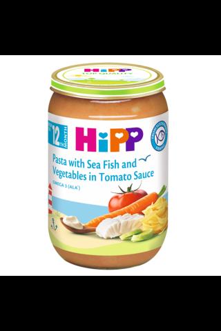 Makaronid Hipp kala&juurv. tomatikastmes 220g