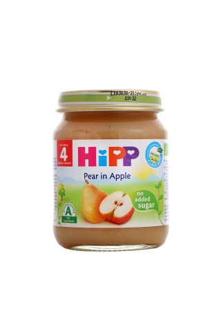 Biezenis Hipp bio bumbieru, ābolu, no 4mēn., 125g