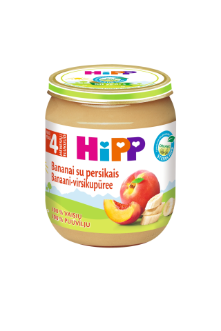 Ekol.tyr.banan.pers.nuo 4mėn.HIPP,125g