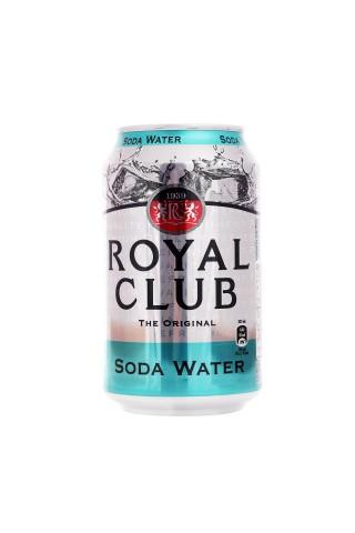 Sodas ūdens Royal Club gāzēts bezalkoholisks dzēriens 0.33l