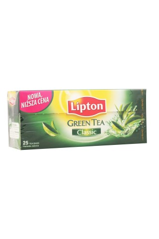 Zaļā tēja Lipton classic 25tm 33g