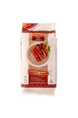 Rudųjų ryžių vermišeliai THAI-CHOICE, 200 g