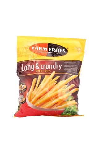 Kartupeļi frī Long&Crunchly saldēti 600g