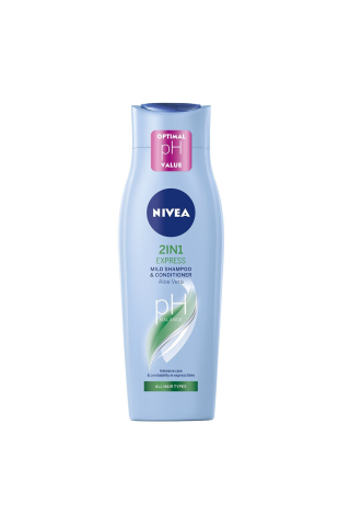 Šampūns Nivea 2in1 express 250ml