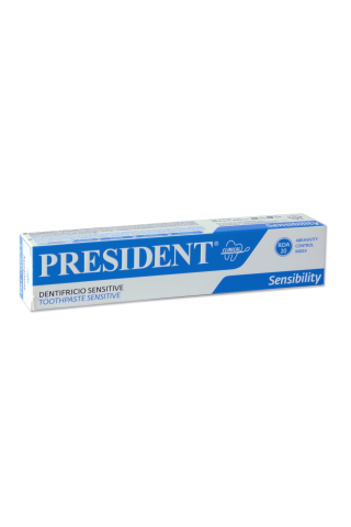 Zobu pasta President Sensitive 75ml