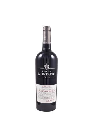 Sarkanvīns Montalto Famiglia Merlot 15% 0.75l