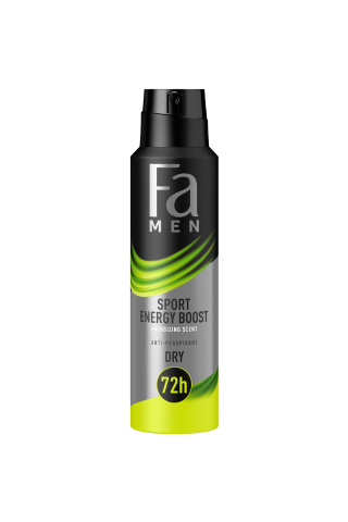 Izsmidzināms dezodorants Fa men sport power boost 150ml