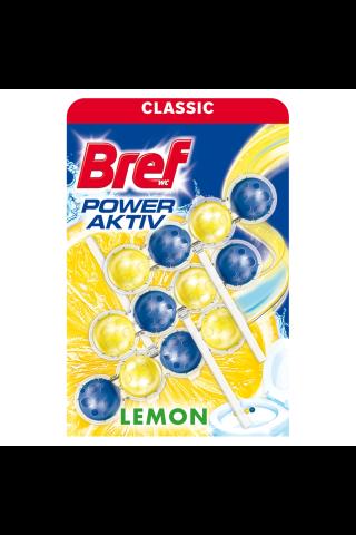 Tualetes bloks Bref lemon 3x50g