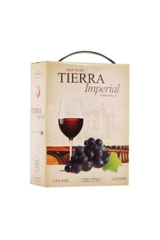 Sarkanvīns Tierra Imperial BIB 12% 3.0l