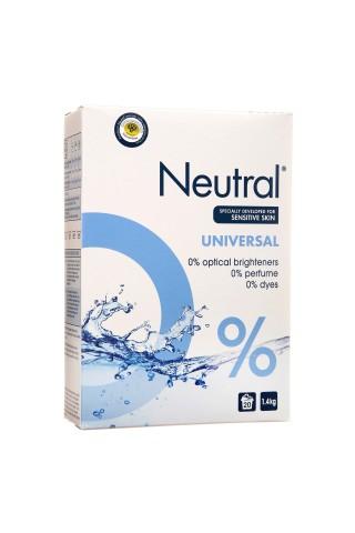 Veļas pulveris Neutral main wash 1.4kg