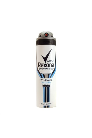 Dezodorants izsmidzin. rexona men racing 150ml
