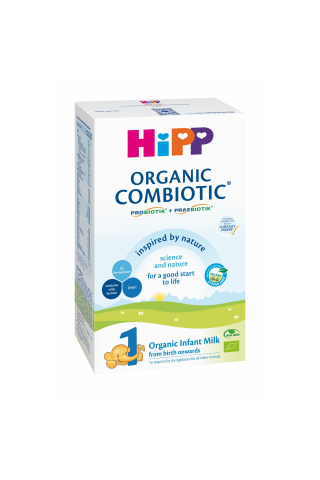 Piena maisījums Hipp1 combiotic 2 bio 300g