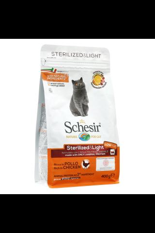 Schesir Sausā barība sterilizētiem un resniem kaķiem, 400g