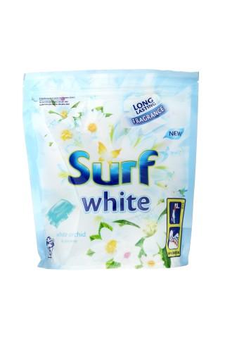 Veļas mazgāšanas kapsulas Surf white orchid & jasmine 15gab