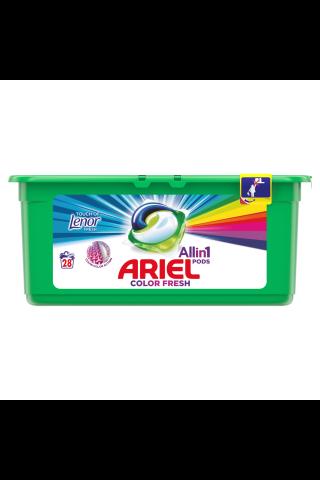 Veļas mazgāšanas kapsulas Ariel touch of Lenor 28gab