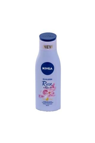 Ķerm.losj.Nivea rose&argan oil 200ml