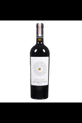 Raudonas sausas vynas DOMODO PRIMITIVO PUGLIA I.G.P., 12 %, 0,75 l