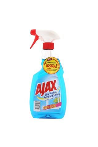 Stikla tīrīšanas līdzeklis Ajax Triple Action 500ml