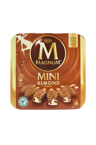 Jäätis Magnum Almond multipakk 6X50g