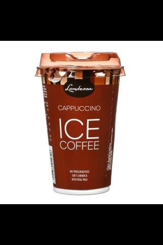 Landessa cappuccino kafijas dzēriens ar pienu, krējumu and kakao, uht. 1,9% tauku sat.