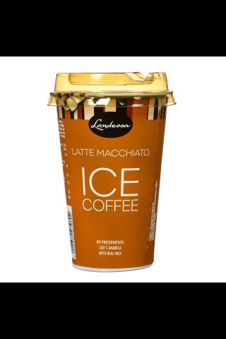 Landessa latte macchiato kafijas dzēriens ar pienu un krējumu, uht. 1,9% tauku sat.