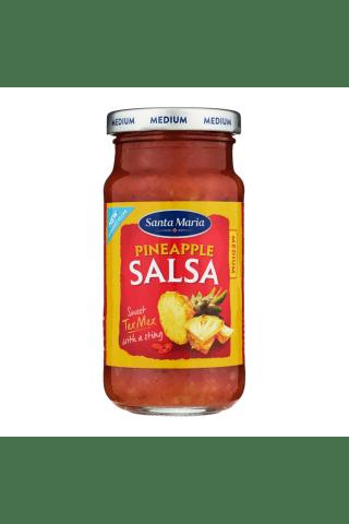 Padažas su ananasais SANTA MARIA PINEAPPLE SALSA, 230 g