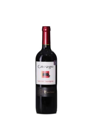Sarkanvīns Gato Negro Cabernet Sauvignon sausais 13% 0,75l