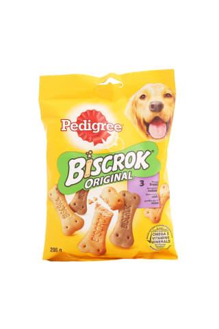 Gardums suņiem Pedigree biscrok cepums pieaugušiem suņiem 200g