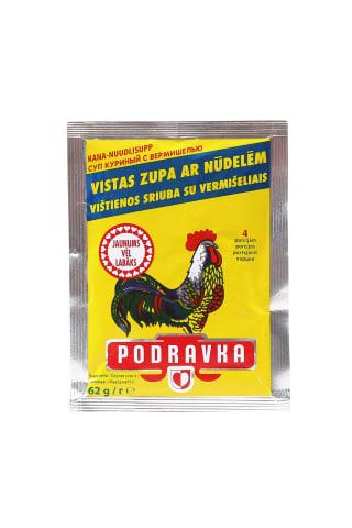 Sausā zupa Podravka vistas ar nūdelēm 62g