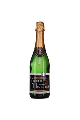 Dzirkstošais vīns Sovetskoje Šampanskoje saldais 11,5% 0,75l