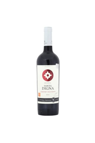Sarkanvīns Santa Digna Cabarnet Sauvignon 14% 0.75l