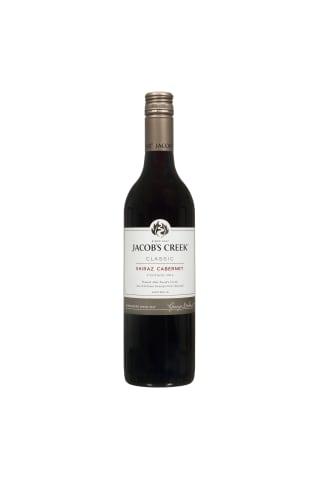 Raudonasis sausas vynas JACOB'S CREEK SHIRAZ CABERNET, 13,5 %, 0,75 l