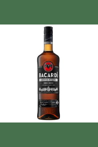 Rums Bacardi Carta Negra 37.5% 1L