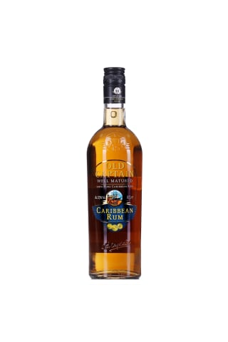 Rums Old Captain Brown rum 37.5% 0.7l