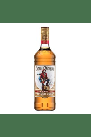 Stiprs alkoholisks dzēriens Captain Morgan Spiced 35% 0.7l