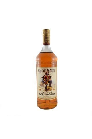 Stiprs alkoholisks dzēriens Captain Morgan spiced 35% 1l