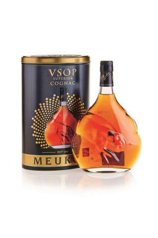 Konjaks Meukow VSOP 40% 0.7l metāla kārbā