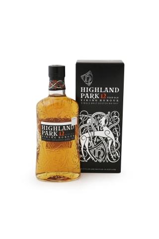 Viskijs Highland park 12Yo single malt 40% 0,7L