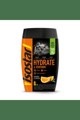 Pulveris Isostar Hydrate & Perform Apelsīnu 400g