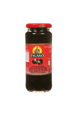 Juodosios alyvuogės su kauliuku FIGARO, 340 g